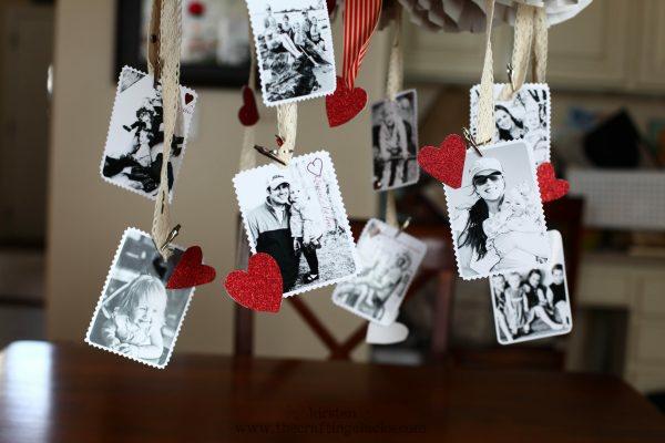 idée de déco saint-valentin à faire soi-même guirlande photos