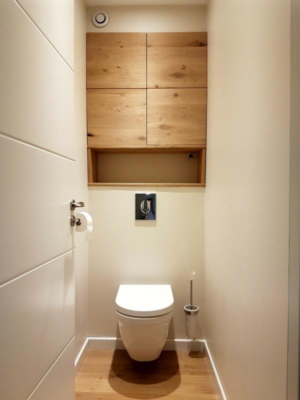 idée de peinture toilettes tendance couleur lin