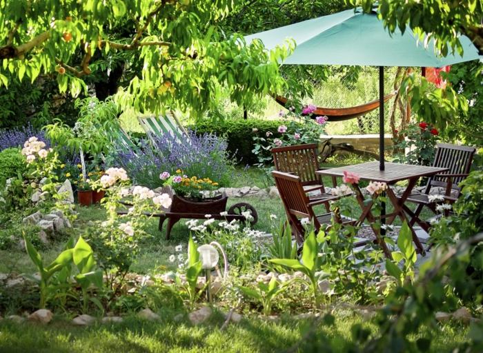idée magnifique de coin détente jardin