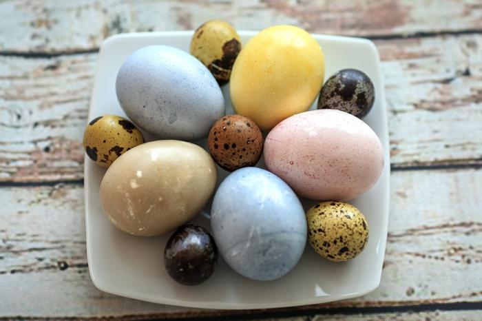 idées comment colorer un oeuf de pâques naturellement