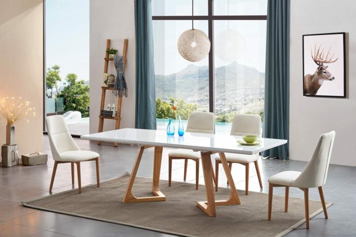 intérieur tendance idée table salle à manger design