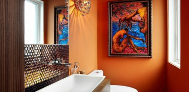 Peinture toilettes tendance : quelle couleur pour décorer les WC