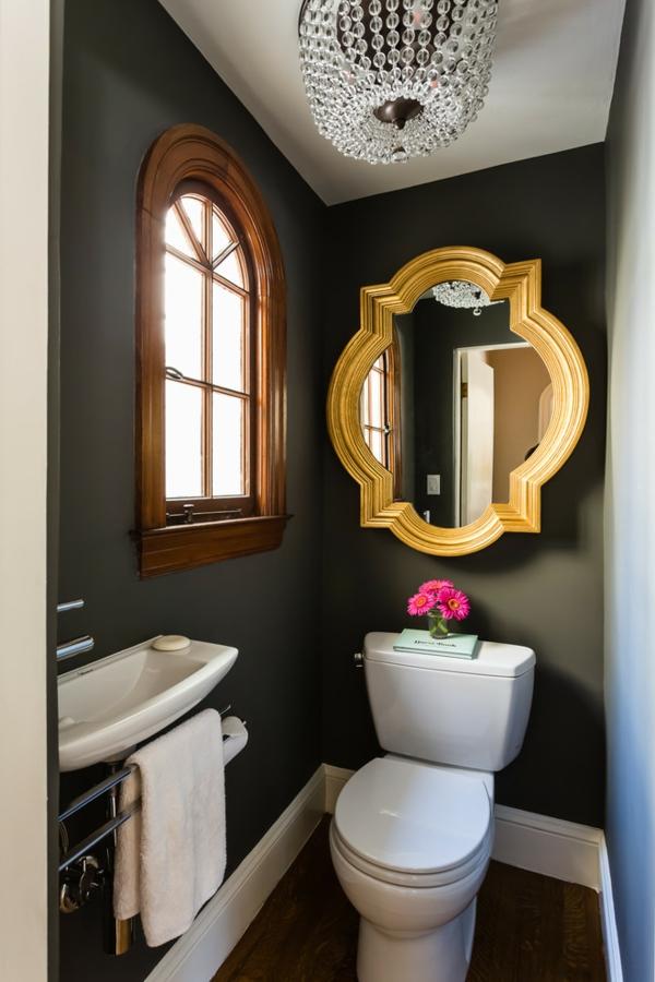 peinture toilettes tendance vert oxyde chromique