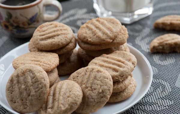 plante cacahuète biscuits au beurre
