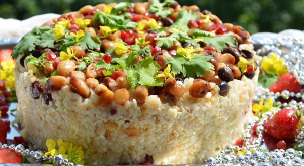 plante cacahuète tarte au riz