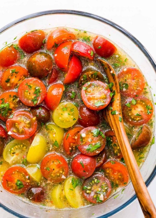 planter des tomates cerises tomates marinées