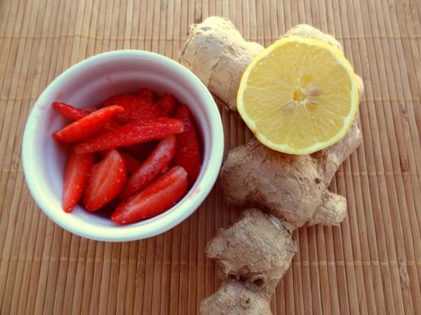 planter du gingembre citron et fraises