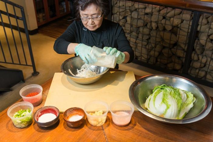 préparer la recette kimchi technologie