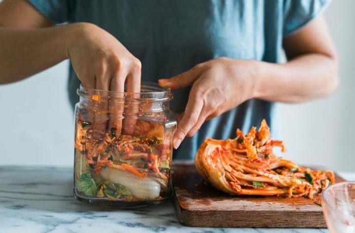préparer la recette kimchi