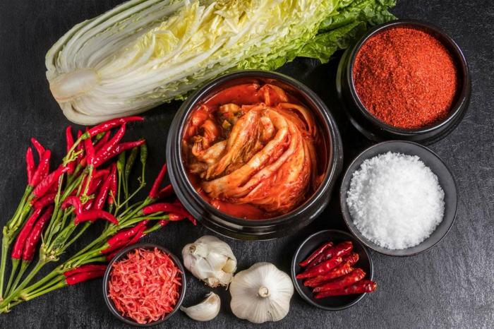préparer recette kimchi ingrédients