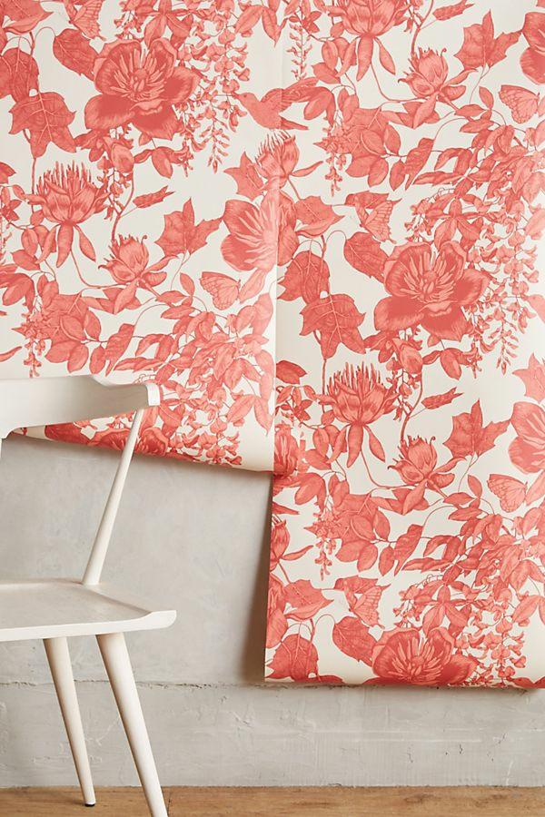 rénovation intérieur décoller du papier peint