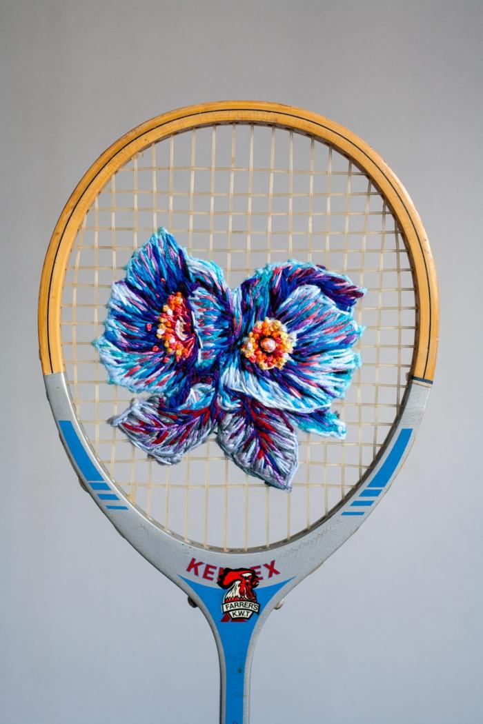 raquette de tennis déco superbe
