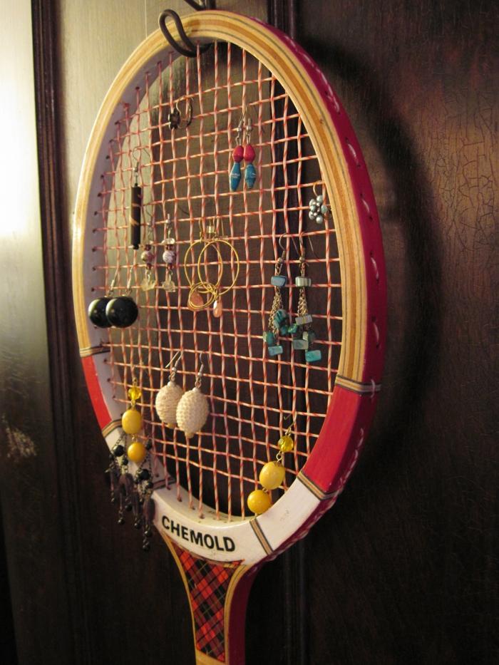 raquette de tennis pour vos bijoux