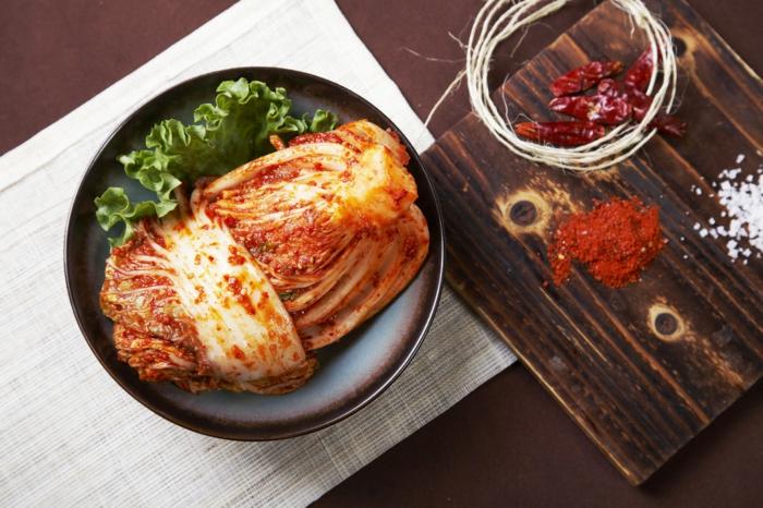 recette kimchi chou chinois fermenté