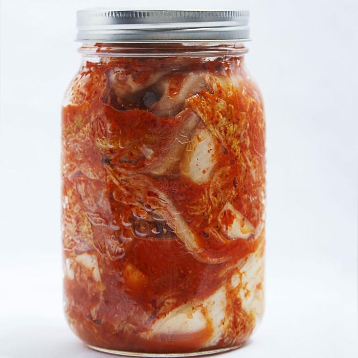 recette kimchi conservation en bocal en verre