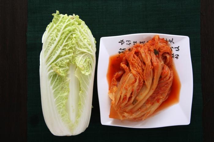 recette kimchi maison chou chinois
