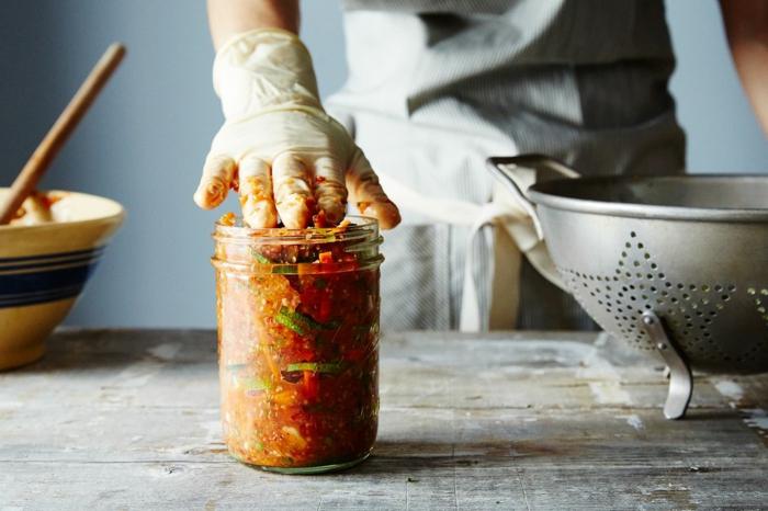 recette kimchi maison conservation en bocal