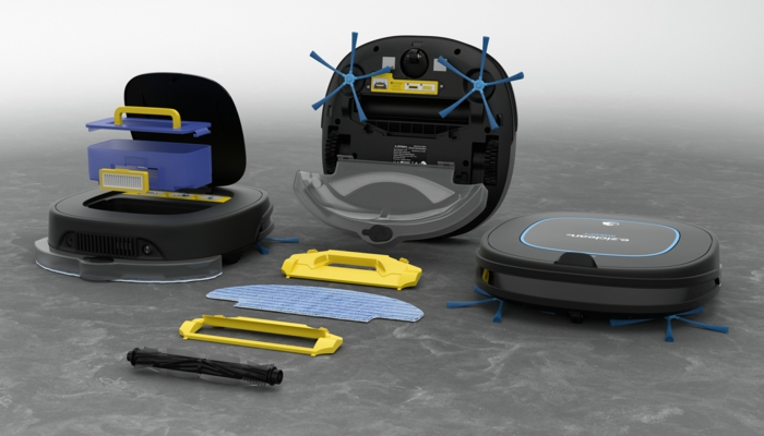 robot piscine aspirateur laveur de sol