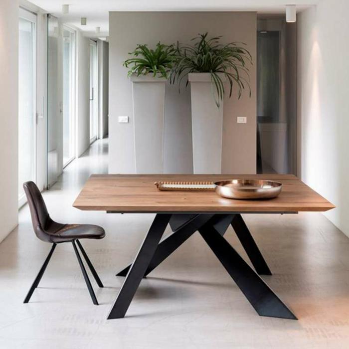 table salle à manger design carrée