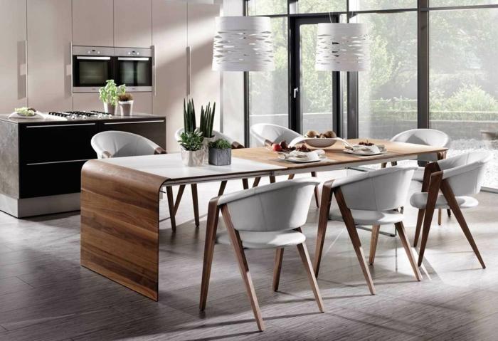 table salle à manger design modèle tendance
