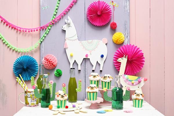 thème de fête déco lama anniversaire