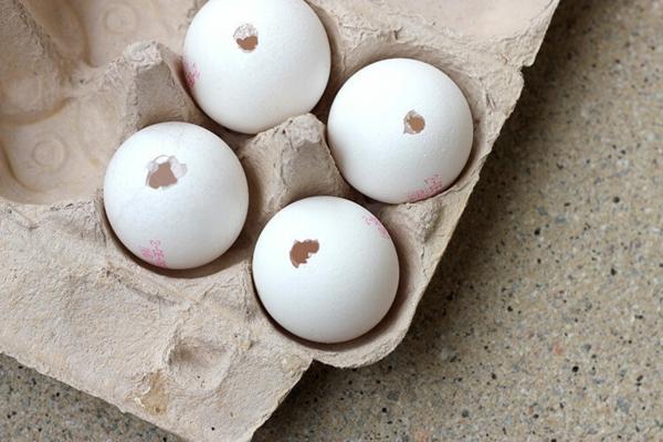 Comment faire des œufs de Pâques décoratifs en béton coquilles