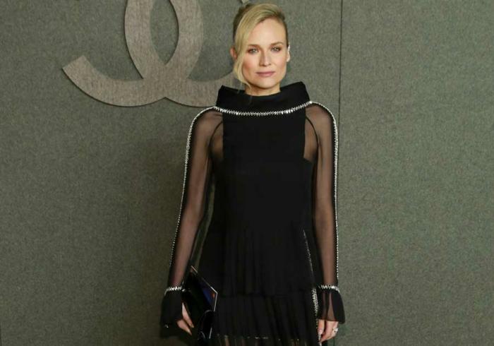 Diane Kruger défilé Chanel après accouchement