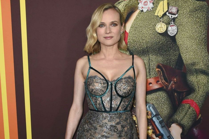 Diane Kruger première Welcome to Marwen ArcLight Hollywood Los Angeles