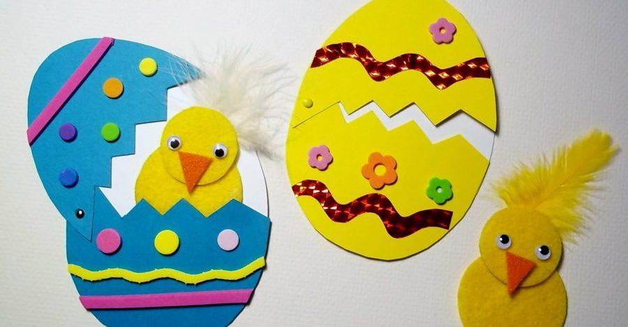 Idées bricolage de Pâques maternelle