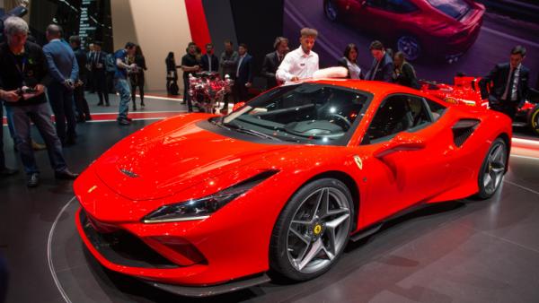 Salon de l'automobile 2019 à Genève Ferrari F8 Tributo