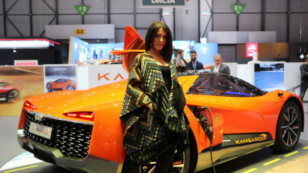 Salon de l'automobile 2019 à Genève GFG Style Kangaroo