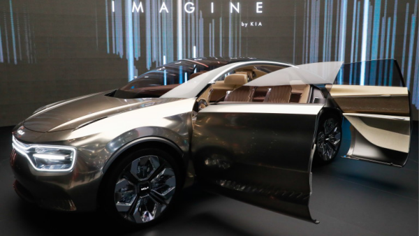 Salon de l'automobile 2019 à Genève Kia Imagine