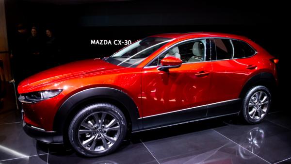 Salon de l'automobile 2019 à Genève Mazda CX-30