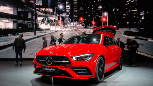 Salon de l'automobile 2019 à Genève Mercedes-Benz CLA