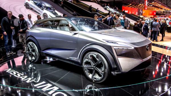Salon de l'automobile 2019 à Genève Nissan IMq