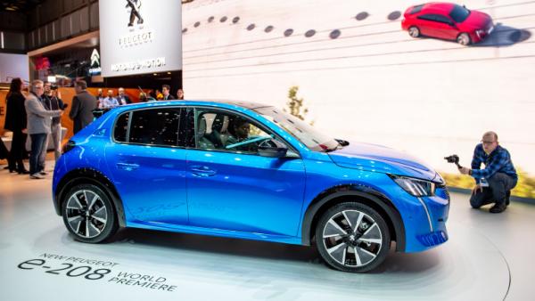 Salon de l'automobile 2019 à Genève Peugeot 208
