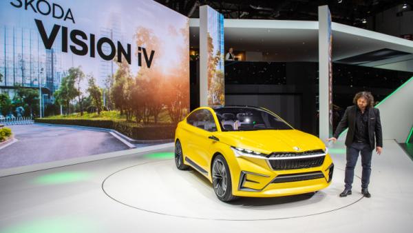 Salon de l'automobile 2019 à Genève Scoda Vision iV