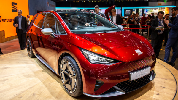 Salon de l'automobile 2019 à Genève Seat el-Born