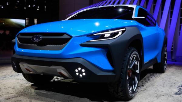 Salon de l'automobile 2019 à Genève Subaru Viziv Adrenaline