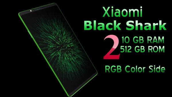 Xiaomi Black Shark 2 au corps mince