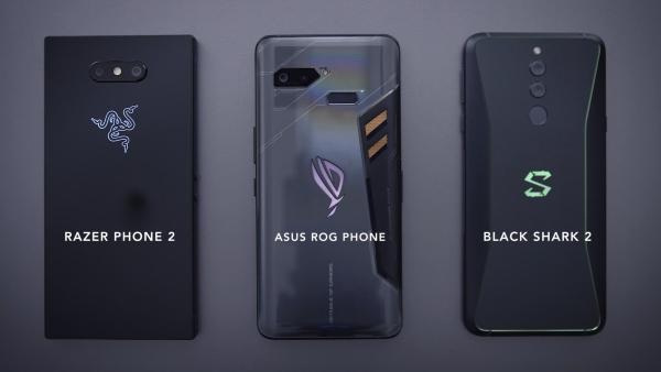 Xiaomi Black Shark 2 trois types de smartphones