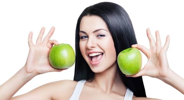améliorer solidité cheveux manger des pommes