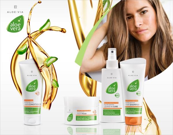 améliorer solidité cheveux produits d'aloé véra