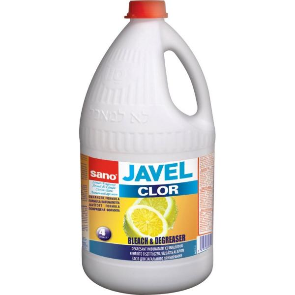 bien-être à la maison eau de Javel