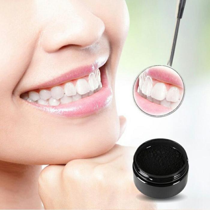 blanchir les dents avec charbon actif