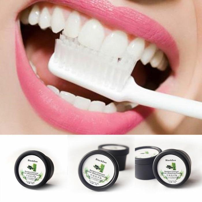 blanchir les dents charbon végétal