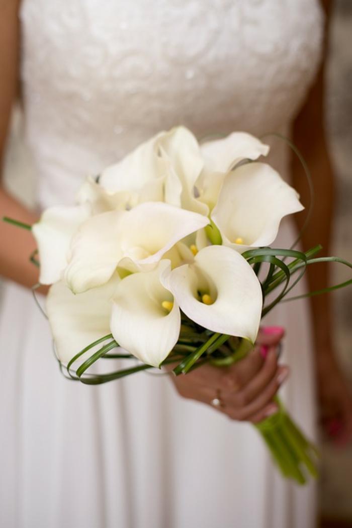 bouquet de fleurs de calla