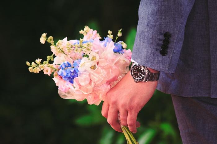 bouquet de fleurs pour mariage