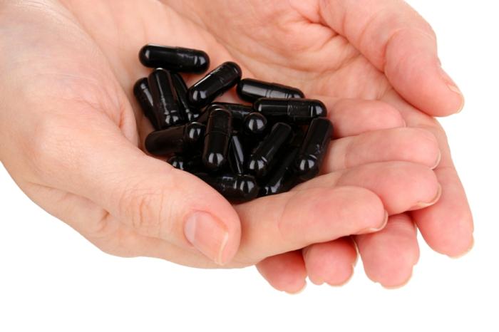 capsules charbon végétal