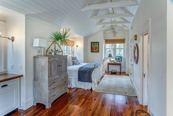 chambre tendance 2019 murs blanc crème